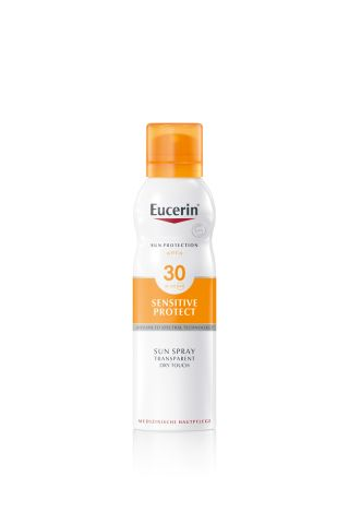 Eucerin Sensitive Protect Sun Spray Transparent Dry Touch LSF 30